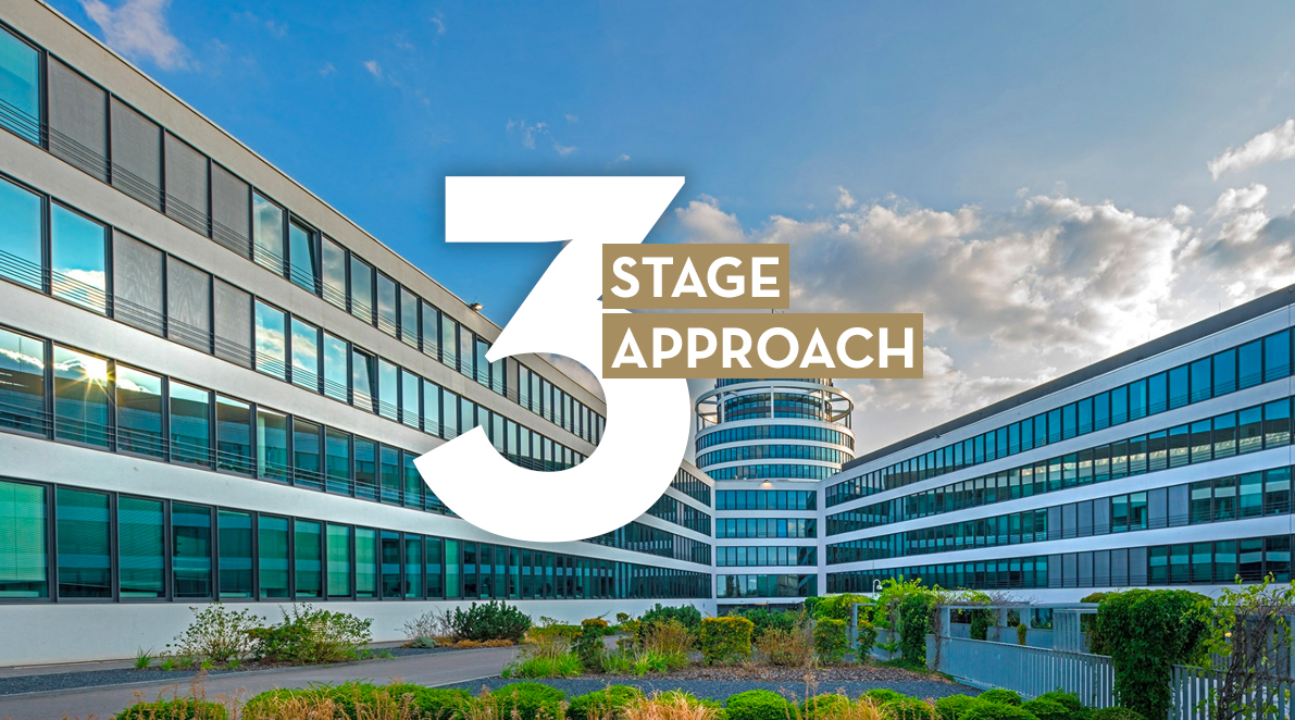 A 3-stage approach to help landlords to get their buildings fully let.